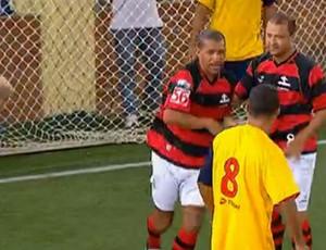 FRAME - Flamengo Casimiro de Abreu showbol (Foto: Reprodução SporTV)