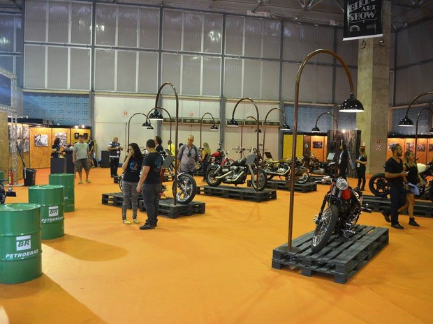 Área de 720 m² dentro do evento é destinada a customização (Foto: Divulgação)
