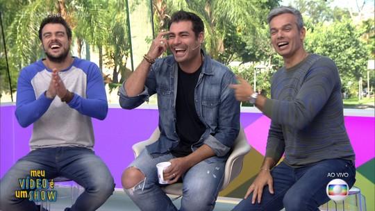 Thiago Lacerda relembra melhores momentos da carreira em 'Meu Vídeo é um Show'