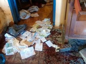 Crime em Paineiras (Foto: Janaína Lourenço/Arquivo Pessoal)