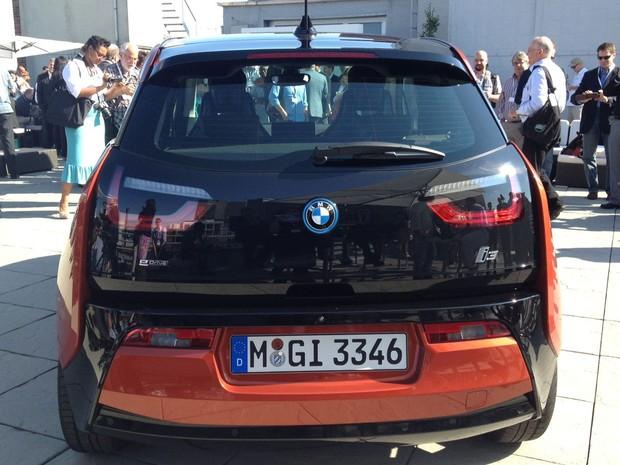 BMW i3 tem plataforma de alumínio e fibra de carbono (Foto: Alessandra Corrêa/G1)
