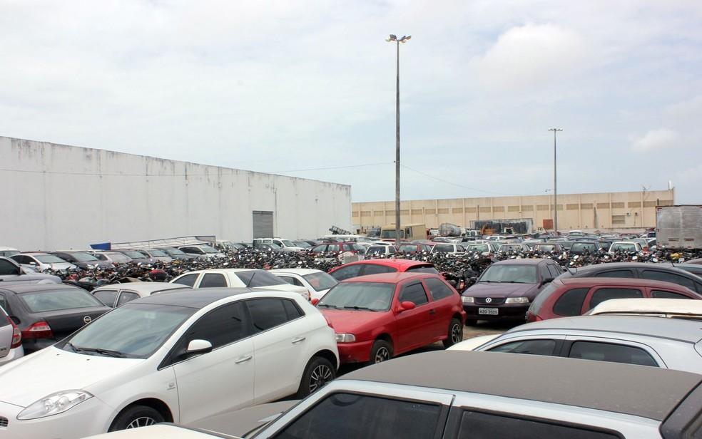 Leilão do Detran começa na segunda-feira (27), a partir das 08h (Foto: Ascom/Detran-SE/Divulgação/ASN)