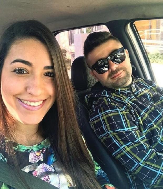 Roberta e o marido (Foto: Acervo pessoal/Reprodução Instagram)