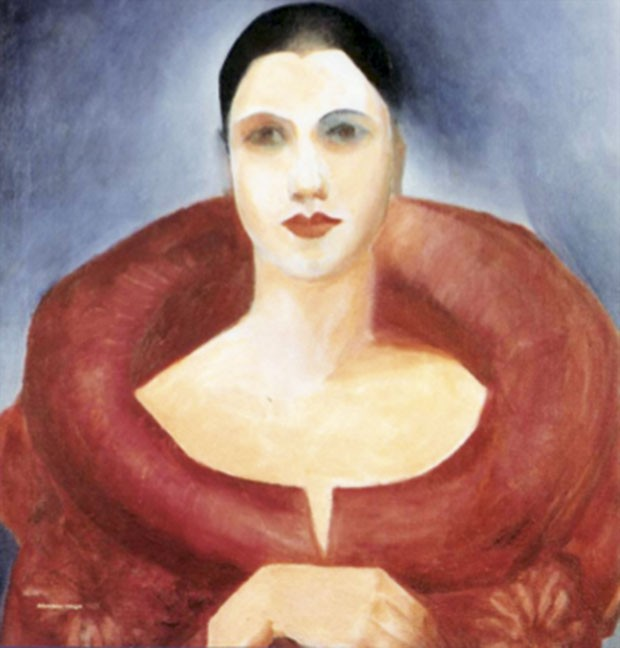 Auto-retrato, (1923) (Foto: Auto-retrato)