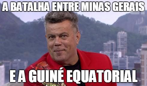 Sobre o embate entre Salgueiro e Beija-Flor (Foto: Reprodução/TV Globo)