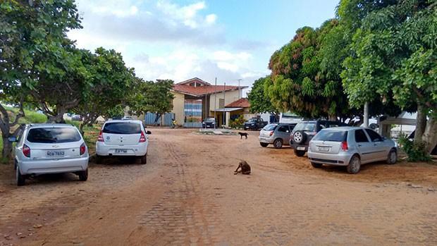 Penitenciária Estadual de Alcaçuz, maior unidade prisional do Rio Grande do Norte (Foto: Francisco Júnior/Inter TV Cabugi)