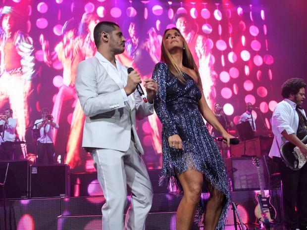 Criolo e Ivete Sangalo se apresentam no Rio (Foto: Alex Palarea/ Ag. News)
