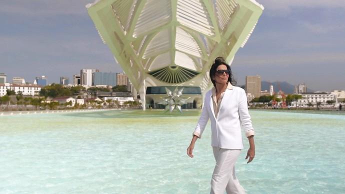 Malu Mader compara trabalho de atuação com arquitetura (Foto: Gshow)