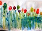 Alunos de extensão do IFRN fazem exposição de pinturas e desenhos