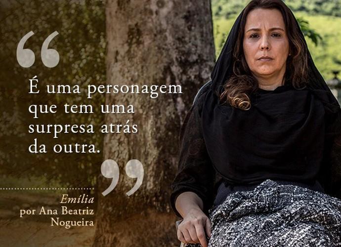 Emília (Ana Beatriz Nogueira) (Foto: Gshow)