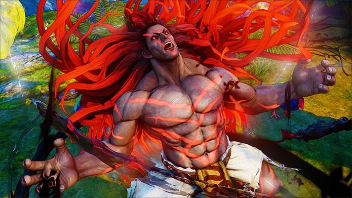 Ele tem estilo de luta selvagem em Street Fighter 5 (Foto: Divulgação)