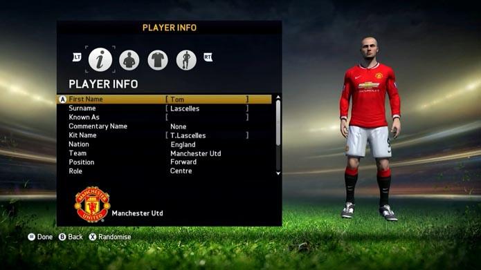Fifa 15  aprenda a criar o seu próprio jogador no game de futebol ... 64ed43c84f178