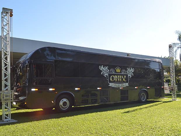 O party bus foi inaugurado em janeiro de 2015 em Ribeirão Preto, SP (Foto: Amanda Pioli/G1)