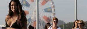 FOTOS: as musas da plateia... (Marcelo Theobald / Agência O Globo)