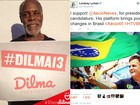Atores de Hollywood manifestam apoio a Dilma e Aécio na internet