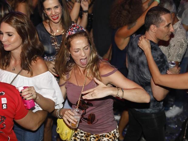 Luana Piovani em festa no Centro do Rio (Foto: Felipe Panfili/ Divulgação)