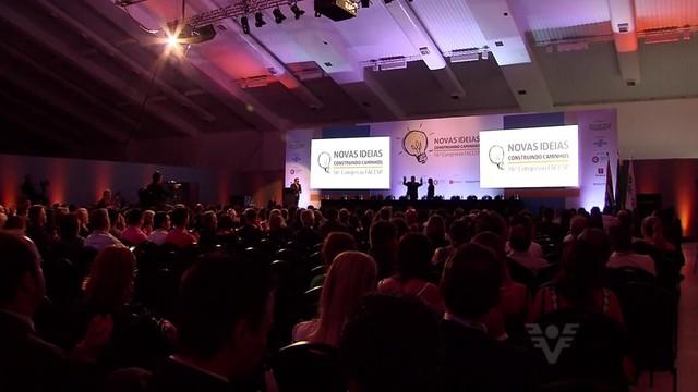 Congresso das Associações Comerciais de São Paulo (Foto: Reprodução/TV Tribuna)