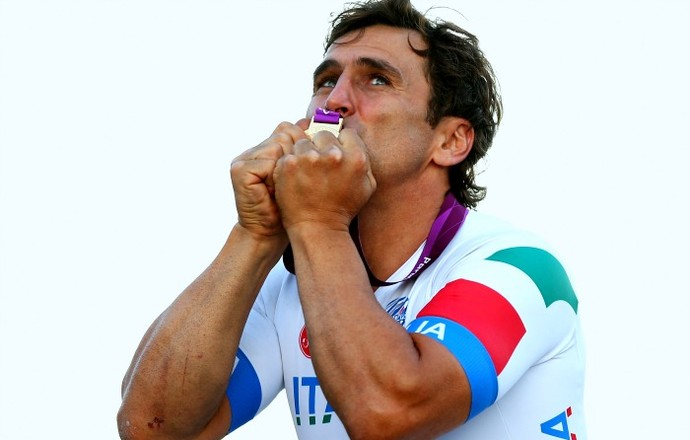 Alex Zanardi Paralimpíadas de Londres (Foto: Getty Images)