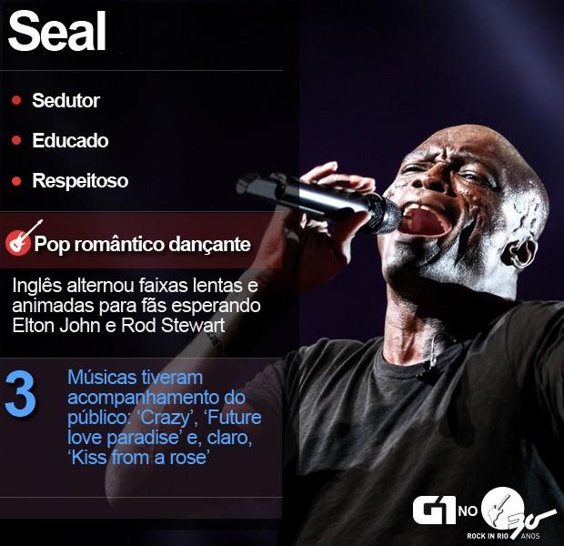 Selo Seal Rock in Rio (Foto: Fábio Tito/G1)