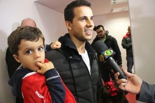 Beira-Rio, Inter x Atlético-PR, Brasileirão, Nilmar (Foto: Tomás Hammes / GloboEsporte.com)