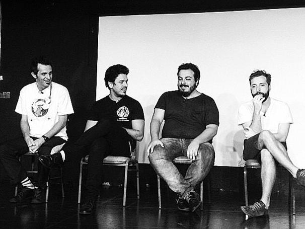 Marcio Ballas, João Vicente de Castro, Luis Lobianco e Gregorio Duvivier (Foto: Reprodução/Instagram )