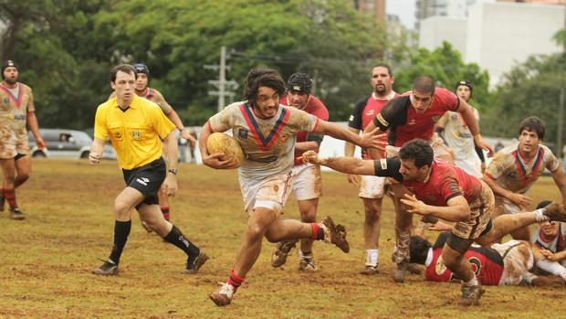Moisés Duque Rúgbi São José Rugby (Foto: Rafael Silva/ Divulgação)