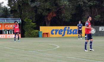 Zé Roberto Edu Dracena Palmeiras (Foto: Tossiro Neto)
