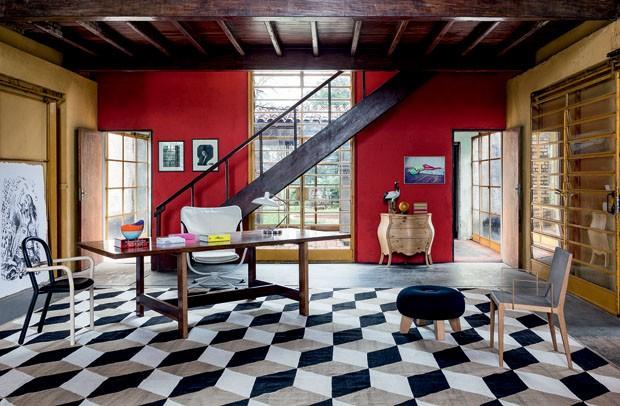 decoracao de interiores vogue: faz tributo a Flávio de Carvalho – Casa Vogue