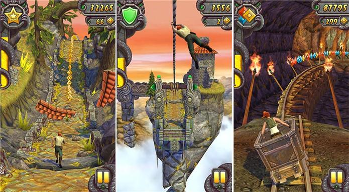 Temple Run 2 é um game famoso que acaba de ser disponibilizado para aparelhos com 512 Mb de RAM (Foto: Divulgação/Windows Phone Store)