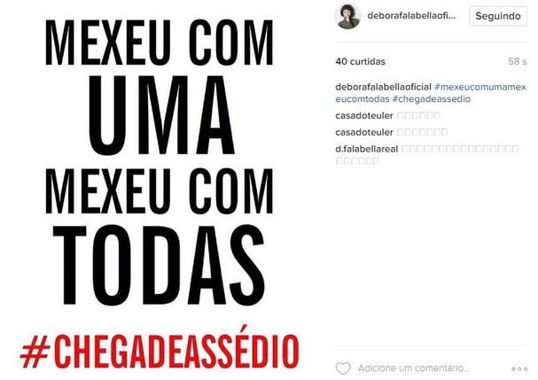 Débora Nascimento (Foto: Reprodução/ Instagram)