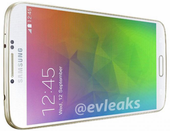 O Galaxy F deverá trazer corpo de alumínio e opções de cor como o dourado (Foto:Reprodução/@evleaks)