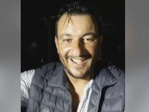 Eduardo Vasques transmitiu ao vivo a queda parcial do camarote (Foto: Reprodução/ Facebook)