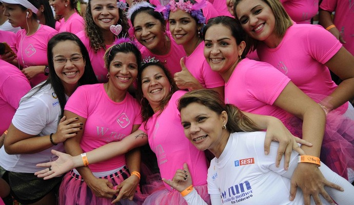 Corrida da Mulher, Manaus (Foto: Antônio Lima/Semjel)