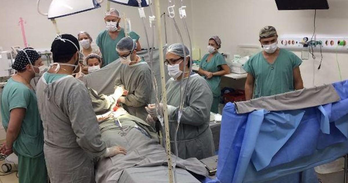 Hospitais fazem captação de órgãos de três doadores em apenas um dia