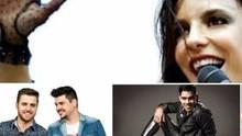 Inter TV Grande Minas leva fãs a camarim de ídolos na Expomontes (Montagem/G1)