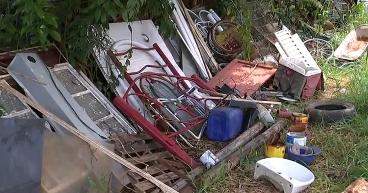Mutirão contra dengue recolhe mais de 10 toneladas de lixo em Iperó - Globo.com