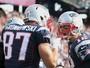 Tom Brady e Gronk comandam vitória dos Patriots com direito a recorde