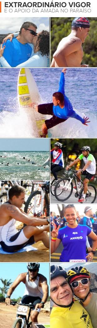 euatleta triatlo pedro (Foto: Arte Eu Atleta)
