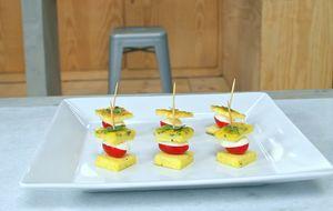 Como fazer sanduichinhos de omelete