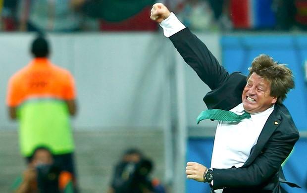 Miguel Herrera gol México x Croácia (Foto: Reuters)