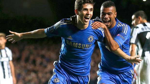 Oscar, Chelsea x Junventus (Foto: Agência Reuters)