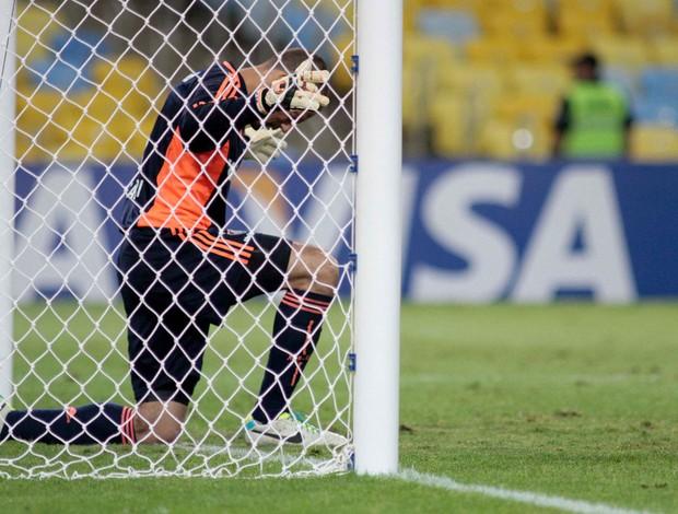 Diego Cavalieri Fluminense x Goiás (Foto: Ricardo Ayres / Photocâmera)
