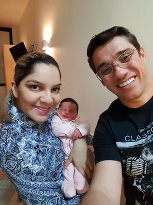Família completa reunida para a selfie! (Foto: Arquivo Pessoal / Marcos Paiva)