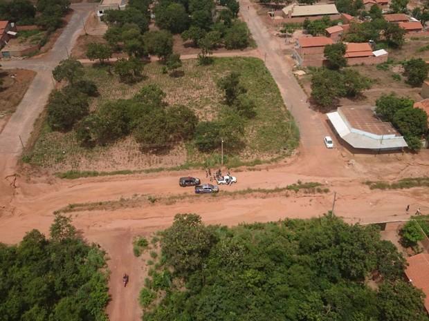Suspeitos foram presos em Palmas  (Foto: CIOPAer/Divulgação)