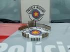PM prende jovem com munições em Bariri após denúncia de agressão