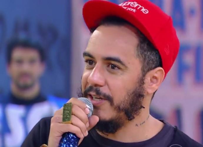 Marcelo D2 explica a escolha do samba em seus raps: 'Caminho natural para dar uma identidade brasileira' (Foto: Gshow)