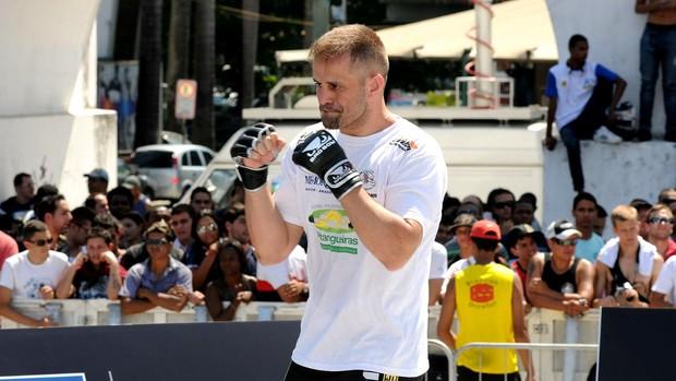 fabio maldonado treino UFC Rio III (Foto: André Durão / Globoesporte.com)