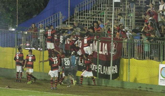 Flamengo x São Paulo Copa Brasil Infantil comemoração (Foto: Marcos Ferreira / Secom Votorantim)