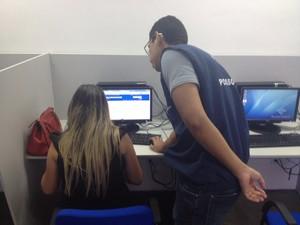 Receita Federal, autoatendimento, contribuinte, serviços online (Foto: Jorge Abreu/G1)