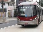 Corredor de ônibus da Berrini é inaugurado com sete meses de atraso